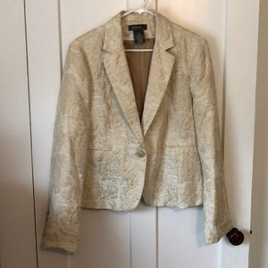 Gold ladies suit jacket